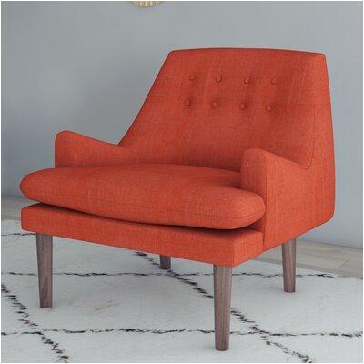 orange accent chairs c a