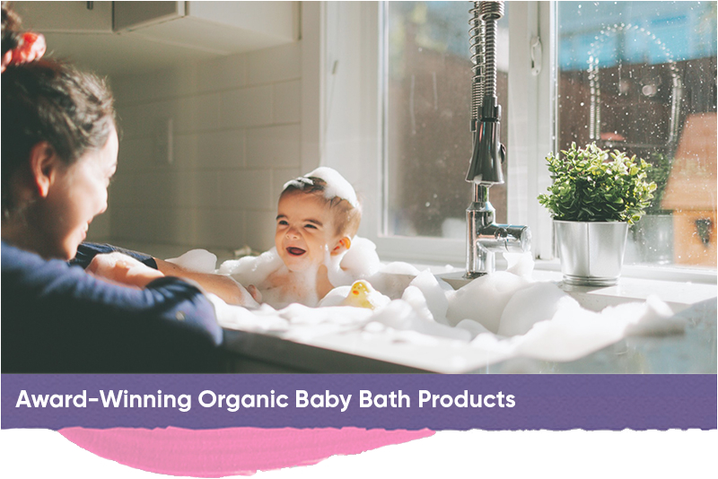 organic baby bath products