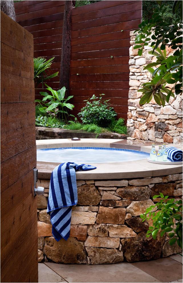 48 awesome garden hot tub designs
