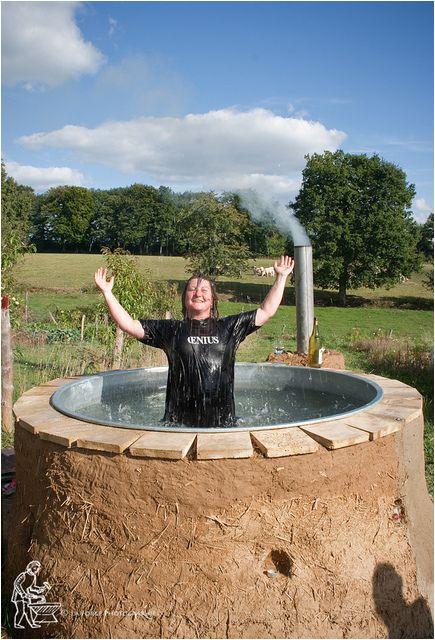 Outdoor Bathtub Water Heater Hot Tub Genius Diy Heaven