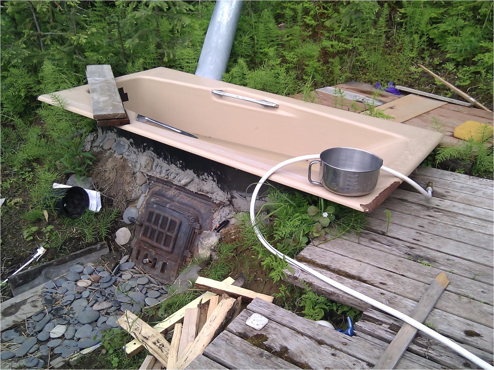 jennifers wood fired outdoor bathtub