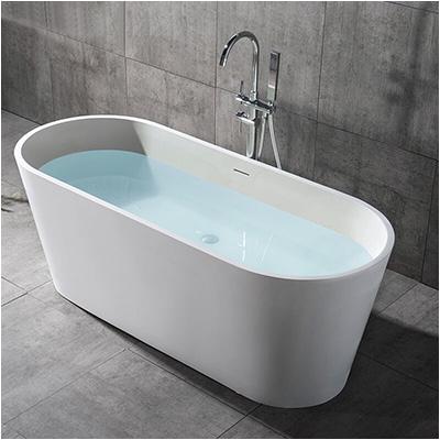 Oval Bathtubs Sizes Deep Bathtubs solid Surface Oval Deep soaking Bathtub