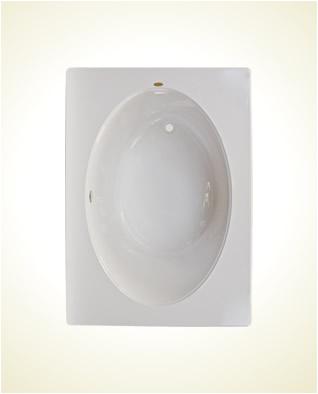 jacuzzi primo 6042 oval whirlpool bathtub