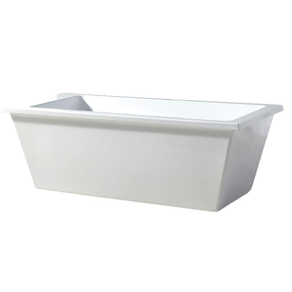 Ove Decors Freestanding Bathtub Ove Decors Hudson Freestanding Bathtub