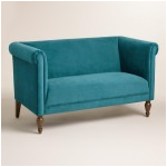 teal glenis tufted accent chair