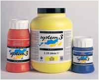 System 3 Acrylic Paint Tubs 225ml