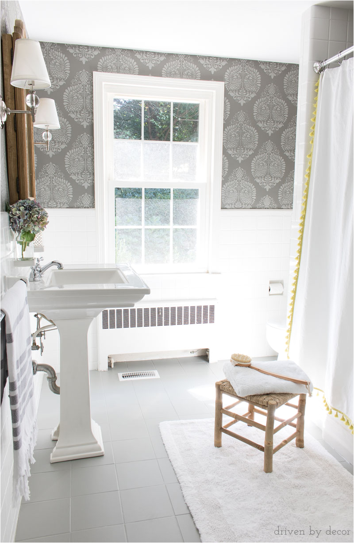 how painting bathrooms ceramic tile floors diy
