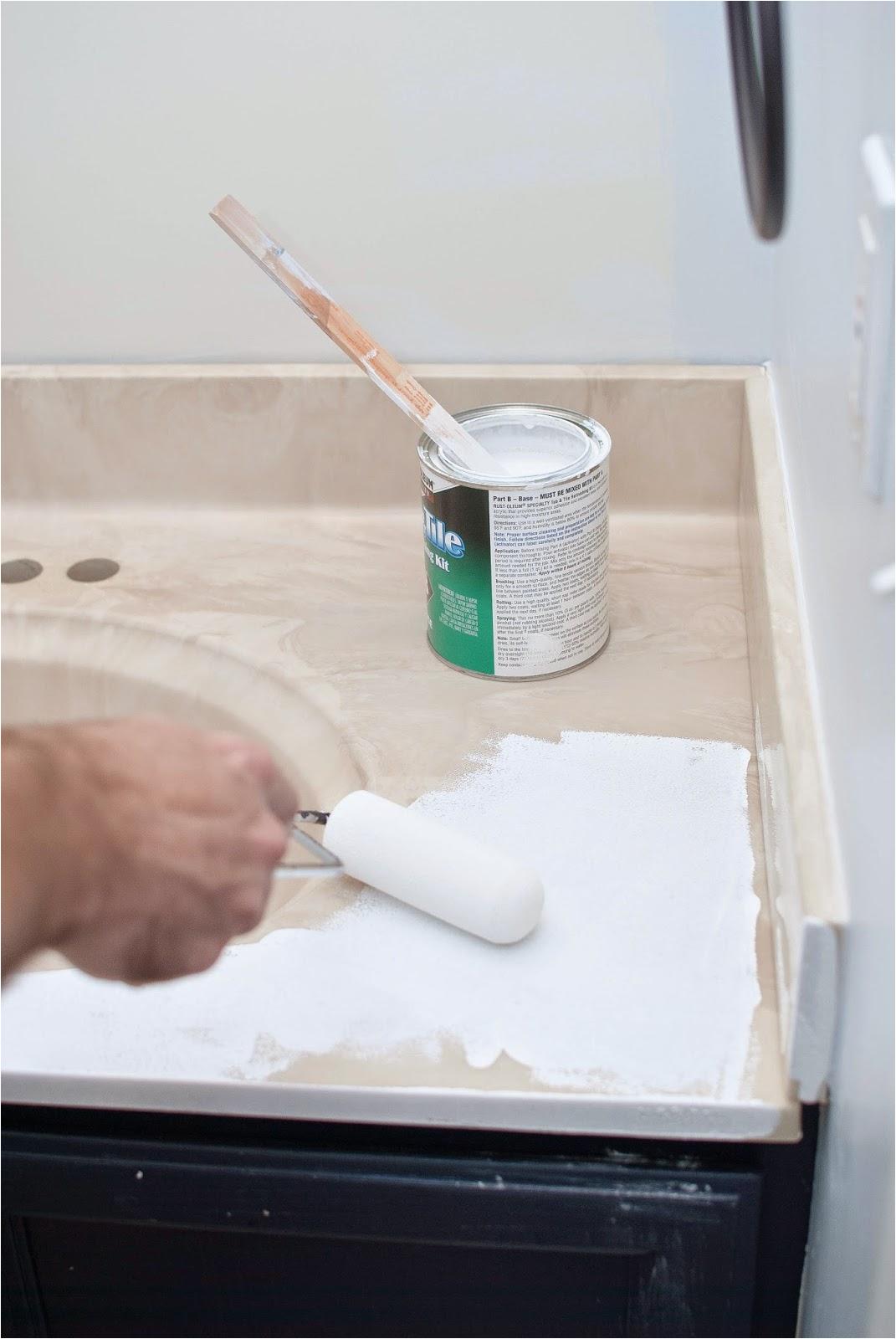 Painting Bathtub and Sink Remodelaholic