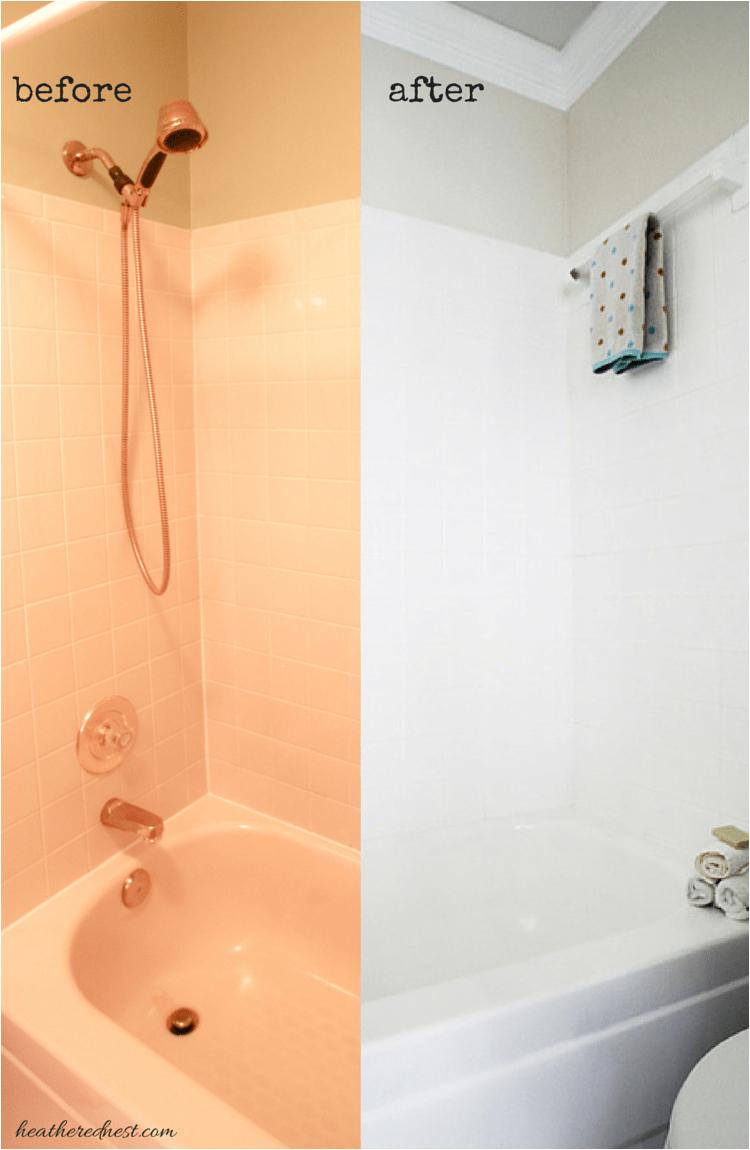 brightening bathtub one room challenge