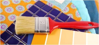 paint a metal bathroom shelf in 3 easy steps