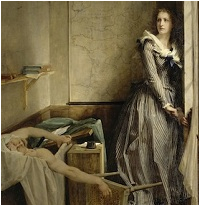 charlotte corday and the bathtub assassination of jean paul marat