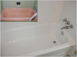 bathroom colors tone down pink ish