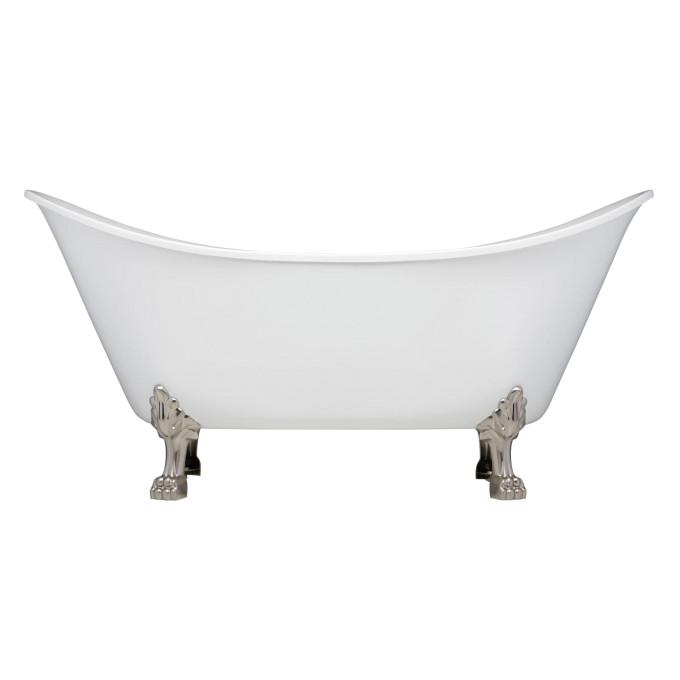 Plastic Claw Foot Bathtub Brenham Acrylic Clawfoot Tub Lion Paw Feet Bathroom