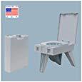 Portable Bathroom Kit Amazon Cleanwaste Portable toilet W 1 Waste Kit