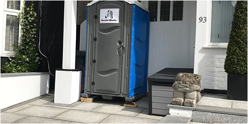 portable toilet hire near me