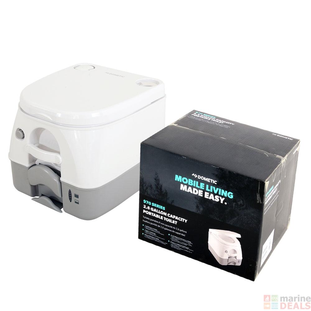 dometic sani pottie marine rv portable toilet 9 8l