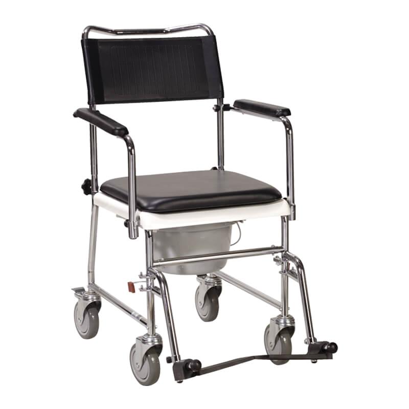 3 1 lightweight foldable armrest backrest mode portable convenient toilet wheels