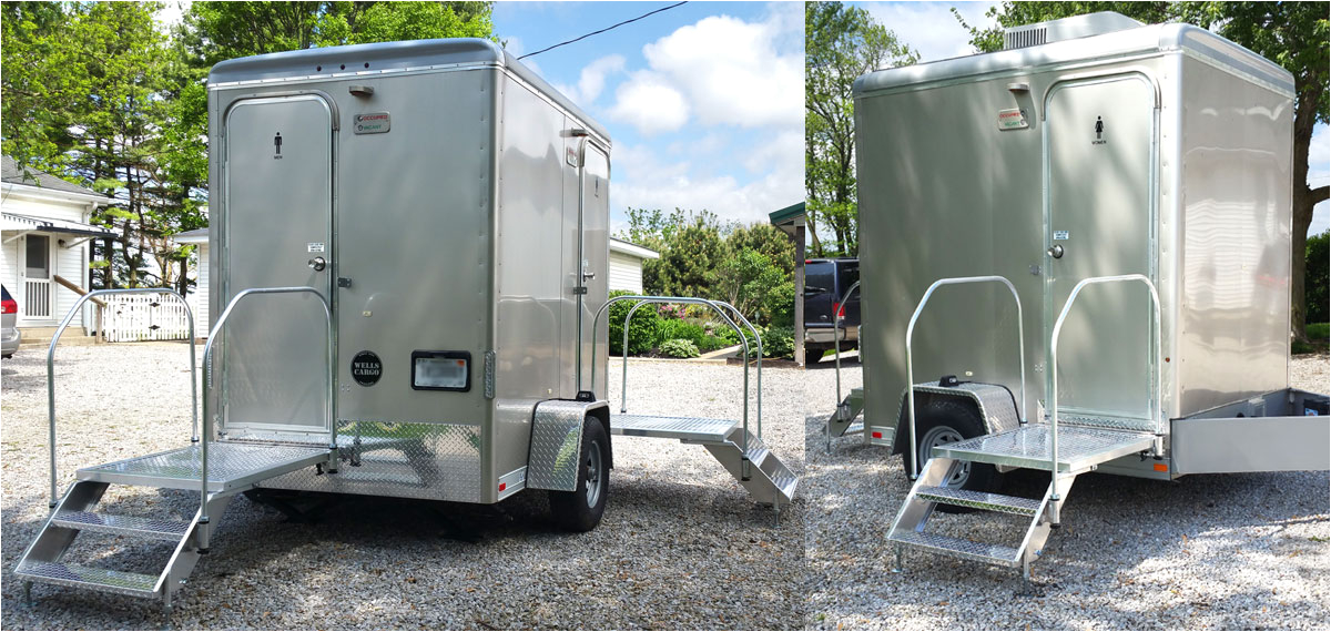 Portable Bathroom Rental Prices Indianapolis Portable Restrooms Trailers Showers