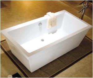 China 1800 Floor Standing Acrylic Plastic Bathtub for Adult Portable Bathtub