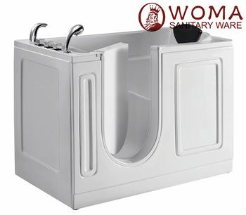 Walk in tub shower bo bathtub price portable bathtub bathtub for disabled step in tubs manufacturers Q380