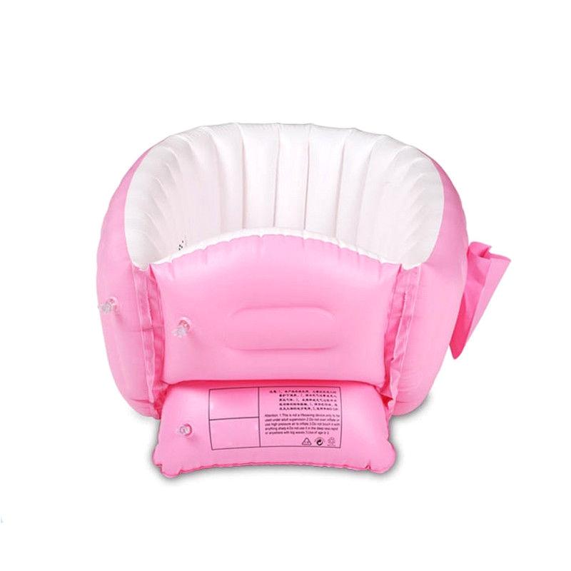 Portable Bathtub for toddler Baby Inflatable Bathtub Pvc Thick Portable Bathing Bath