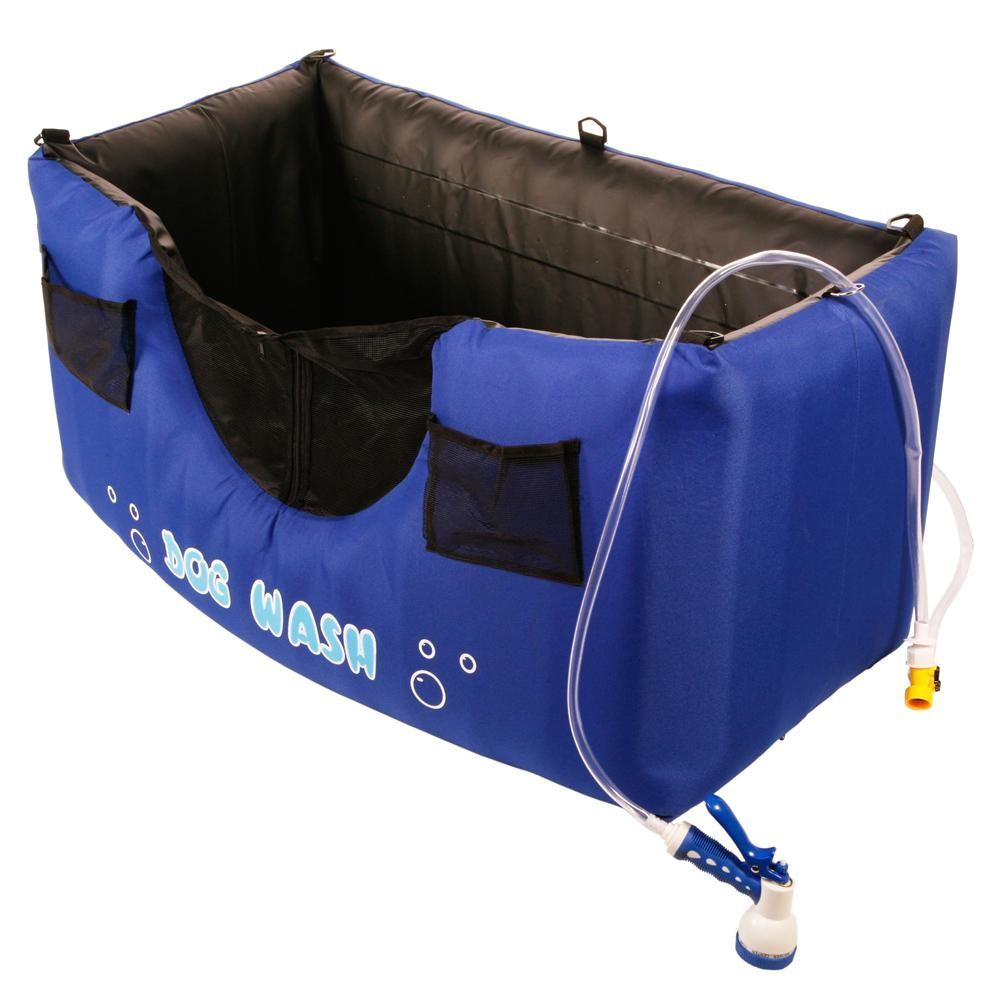 dog wash tub hugs inflatable dog wash thriftypetsupply