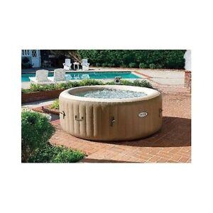 Portable Bathtub Jet Spa Portable Hot Tub Outdoor Inflatable Jacuzzi Bubble Spa