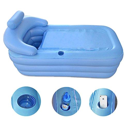 penson and co inflatable bath tub pvc portable adult bathtub bathroom spa with air pump