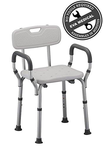 tool free spa bathtub shower chair portable bath seat adjustable shower bench white bathtub chair with arms