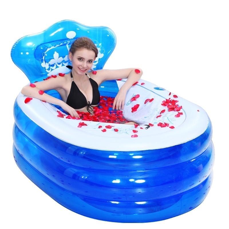 Portable Bathtub south Africa Travel Kits & Hair Care Sets 145 X 80 X 45cm Foldable