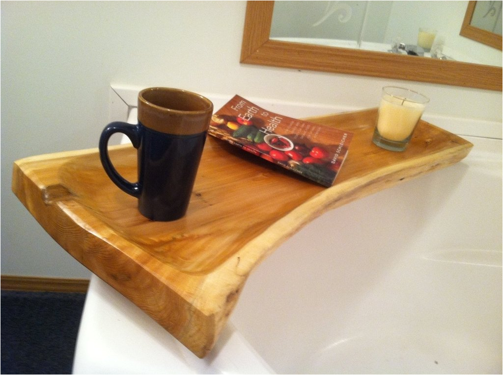 how to build a wooden bathtub stool