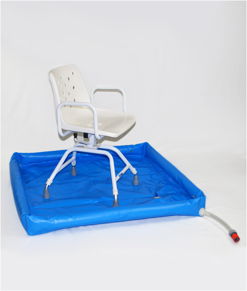 portable shower tray royale