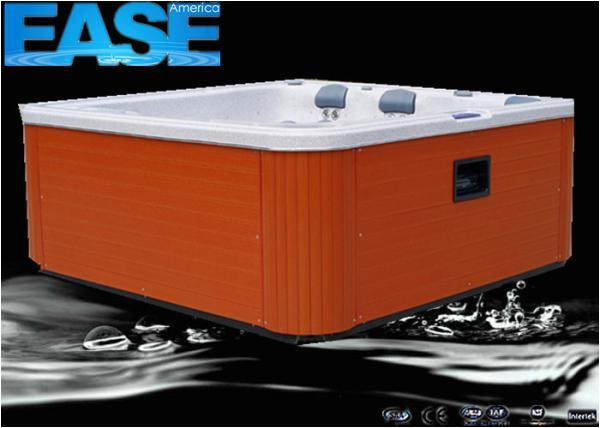 pz b8 cz54eae5d portable hot tub whirlpool massage bathtub outdoor spa with 6 seats plastic jet ring trim