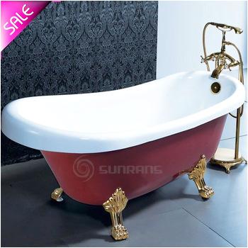 Hot sale luxury portable freestanding bathtub