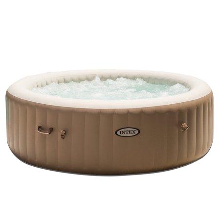 Portable Heated Bathtub Intex Inflatable Pure Spa 6 Person Portable Heated Bubble