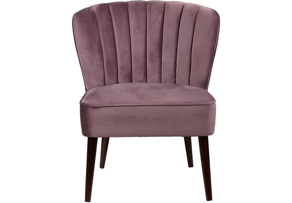 Purple Leather Accent Chair Cecelia Purple Accent Chair Accent Chairs Red