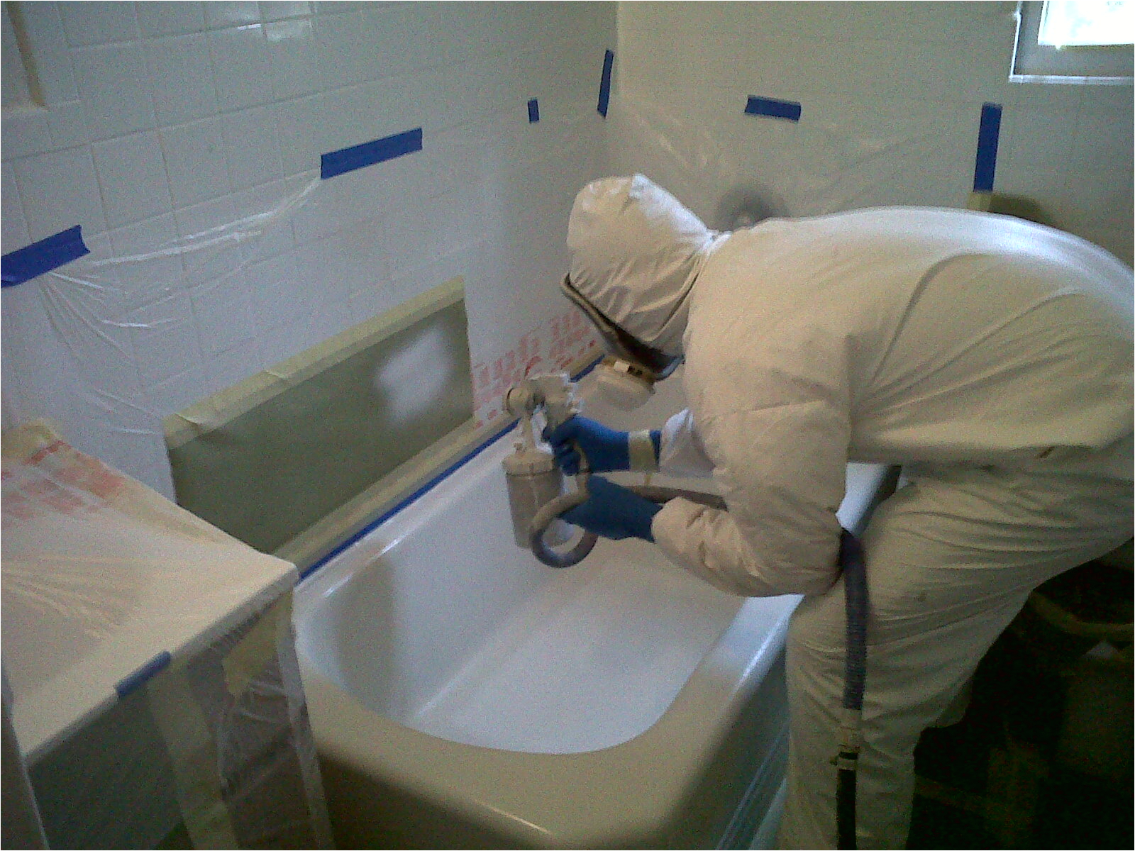 how to paint bathtub
