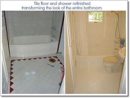 Reglaze Tub Long island Refinish Bathroom Tile Floor