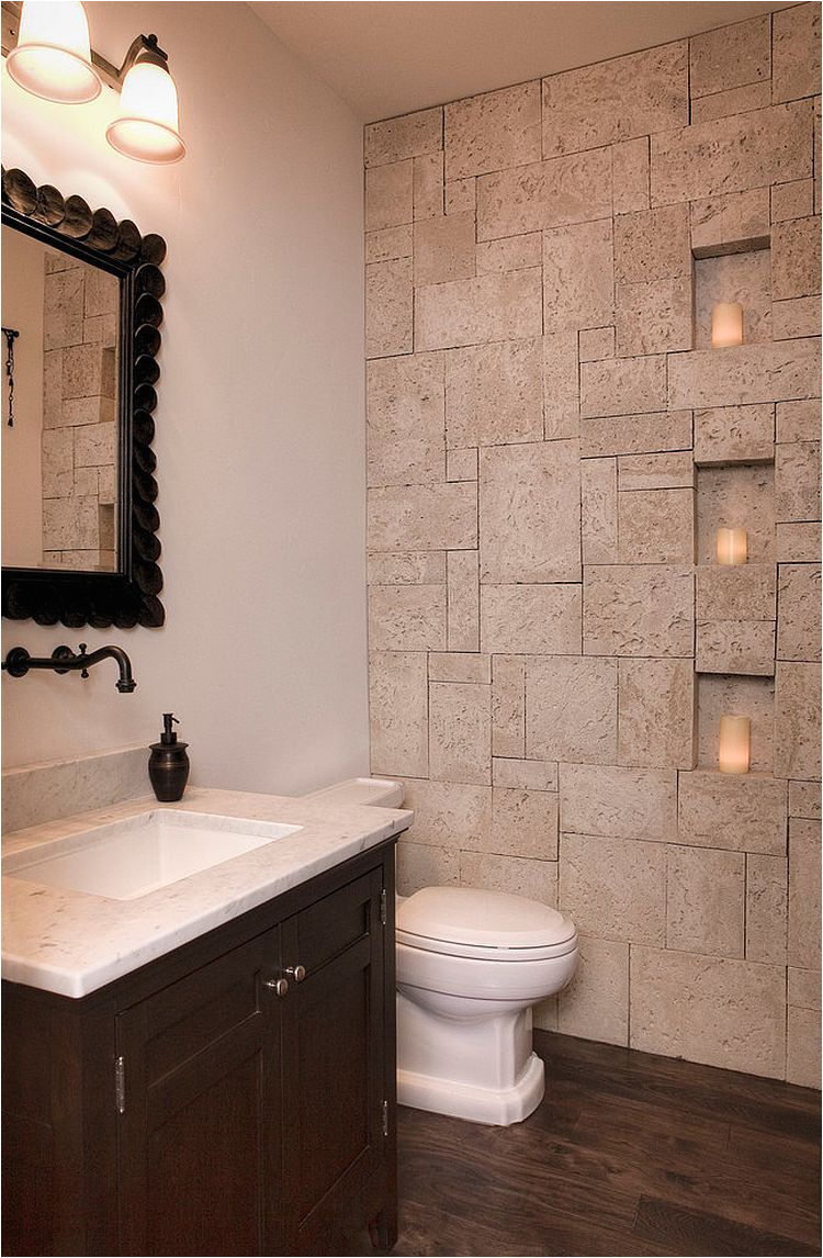 Remodel Bathtub Walls 30 Exquisite and Inspired Bathrooms with Stone Walls