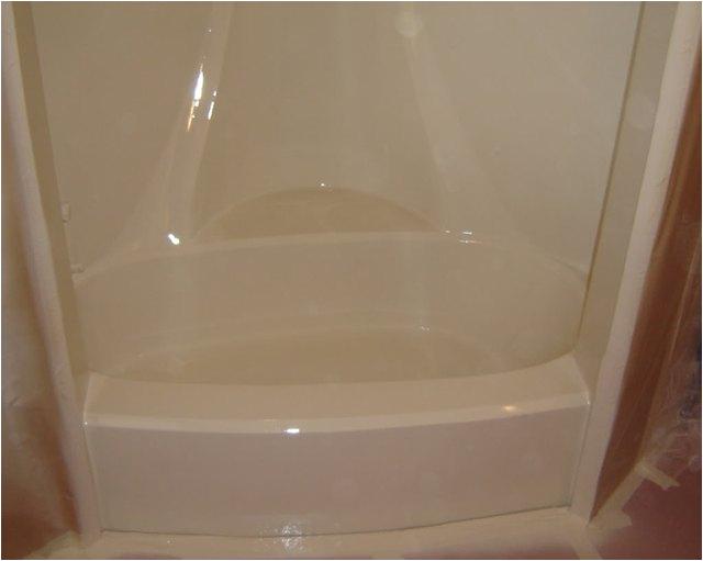 how to paint a fiberglass tub