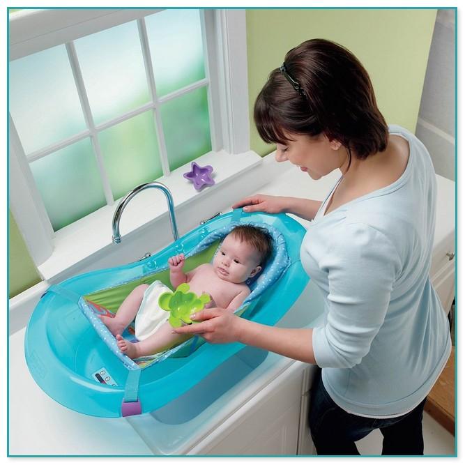 fisher price baby bath tub with hammock