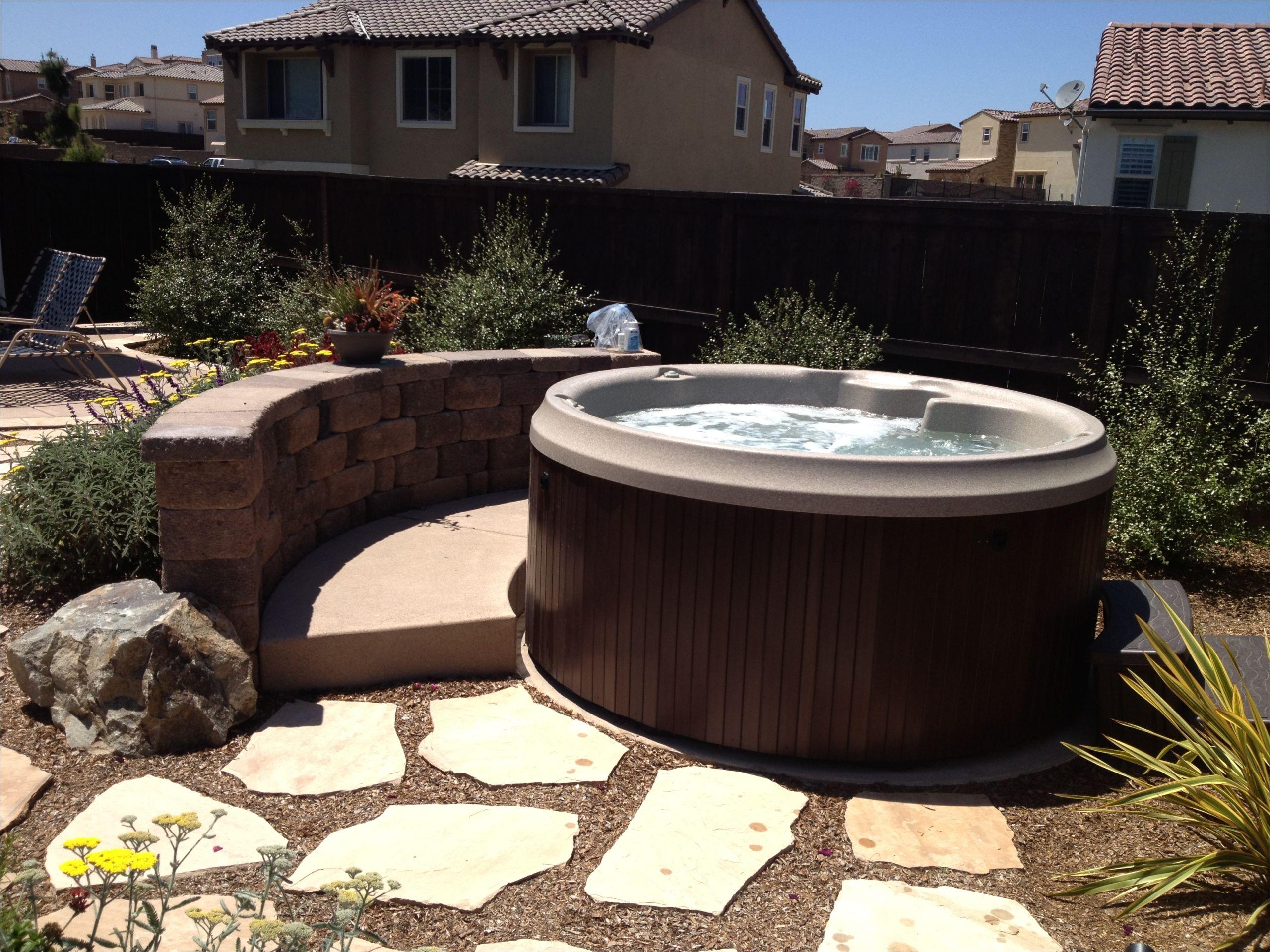 Round Jetted Bathtub Round Hot Tub From Jacuzzi at Aqua Paradise