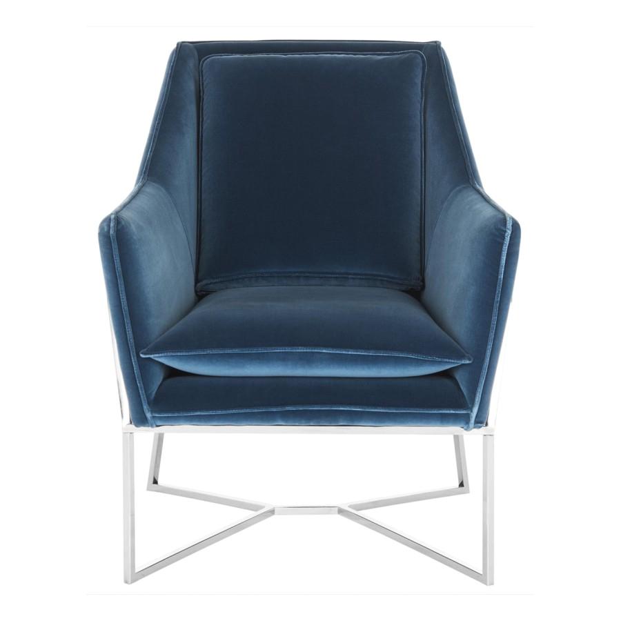 Royal Blue Accent Chair Decor Market Safavieh Couture Evrex Club Chair Royal
