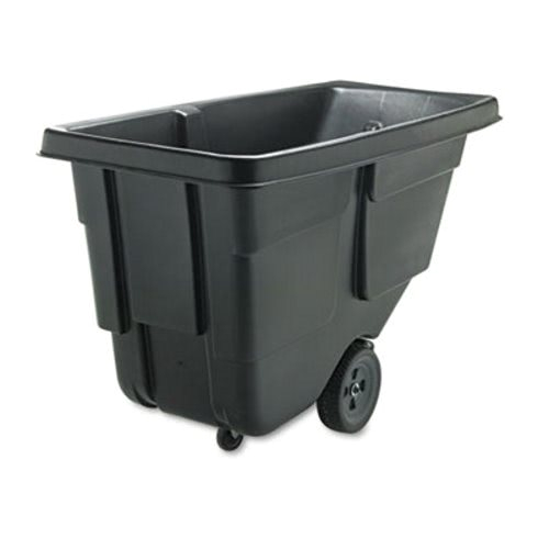 rubbermaid 9t17 tilt truck 12 cubic yard 300 lb cap black rcp 9t17 bla