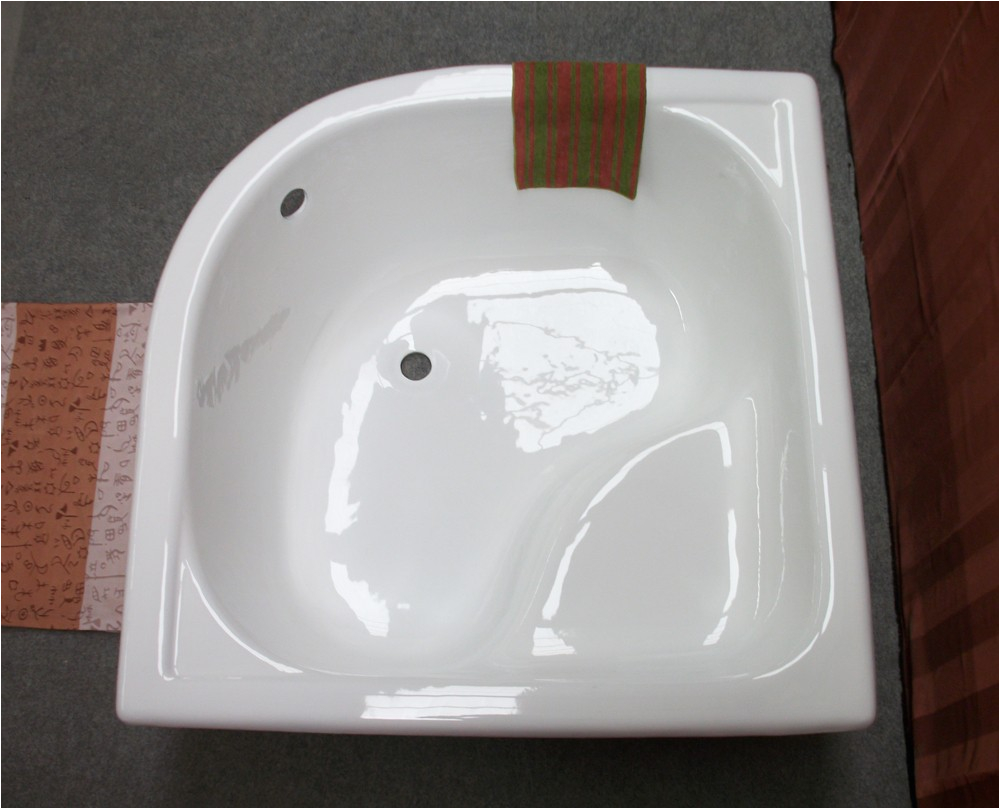 cheap small corner bathtub 1000mm cast