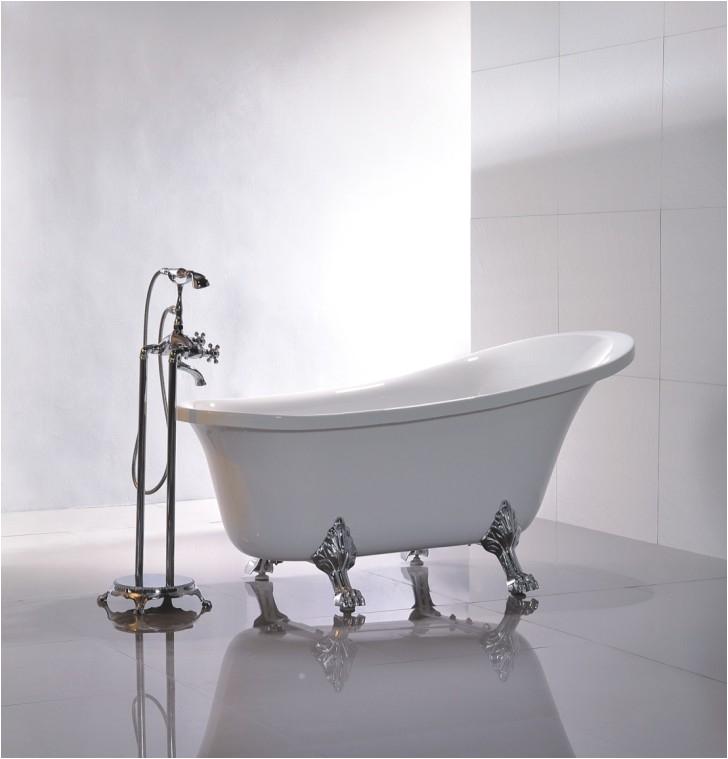 kohler freestanding tub with claw feet