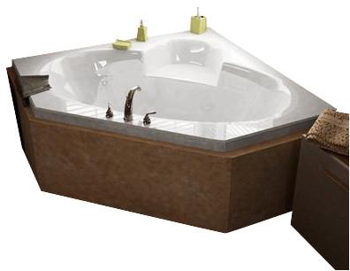 Atlantis Tubs 6060S Sublime 60x60x23 Inch Corner Soaking Bathtub bathtubs