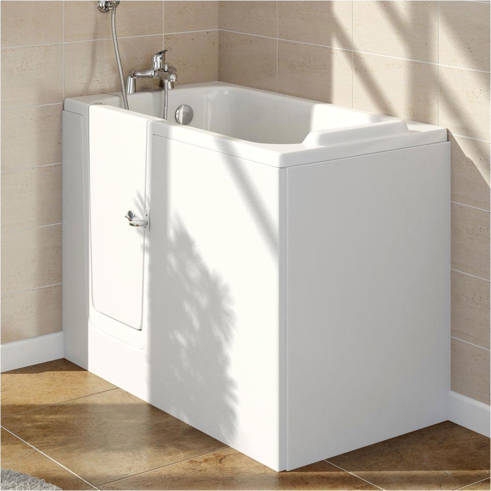 lindley easy access 1210mm deep soak bath inc front end panels