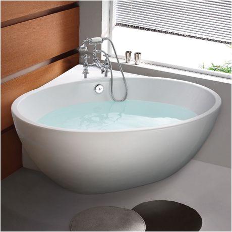Small Freestanding Bathtubs Uk orbit Corner Modern Free Standing Bath 1270 X 1270mm In