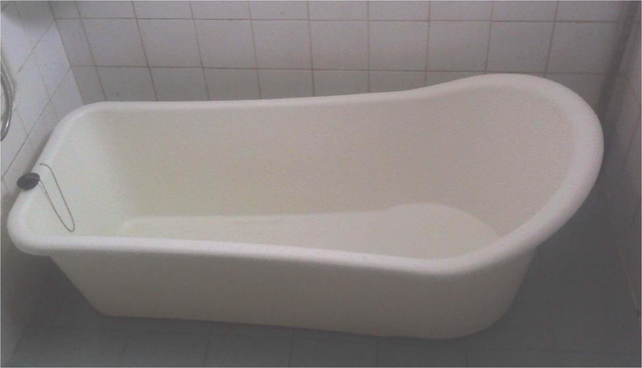 Small Plastic Bathtubs White Long Portable Bathtub Bathroom Ideas